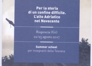 Locandina Summer Scholl Convegno