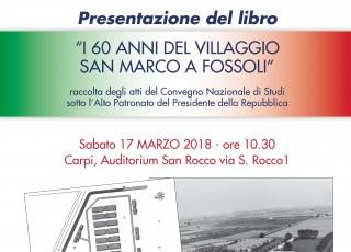 Presentazione Libro Villaggio San Marco