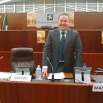 Giorgio Federico Siboni, relatore presso il Consiglio regionale lombardo sulle vicende storiche del Confine orientale