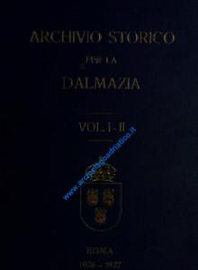 Archivio storico per la Dalmazia_wL-01