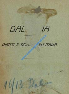 Dalmazia - diritti e doveri dell'Italia_wL-01