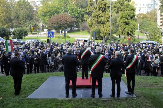 Monumento foibe esodo Milano