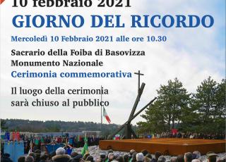 Locandina Giorno Ricordo 2021 III