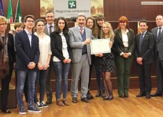 Premiazione Liceo Varese1