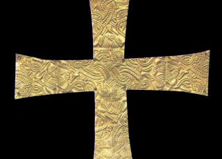 Croce Nastriforme Vii Secolo 10 Cm Verona Museo Di Castel Vecchio
