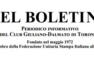 Boletin Giuliano Dalmata Toronto