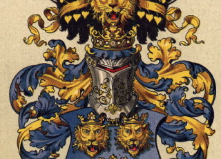 Austrian Hungarian Imperial Civic Heraldry Dalmatia