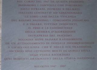 Lapide Bologna