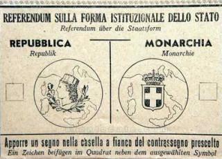 Scheda Elettorale Referendum 2 Giugno 1946
