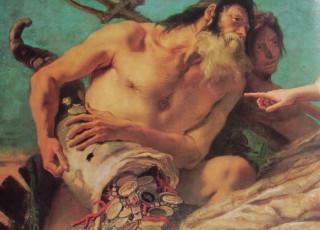 35 Gian Battista Tiepolo Particolare Del Nettuto Offre Doni A Venezia