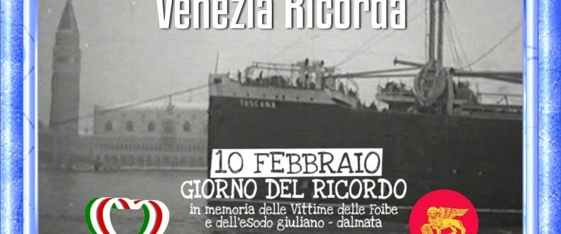 VENEZIA RICORDA L'arrivo Dei Profughi Giuliano Dalmati A Venezia A Cura Di Vittorio Baroni