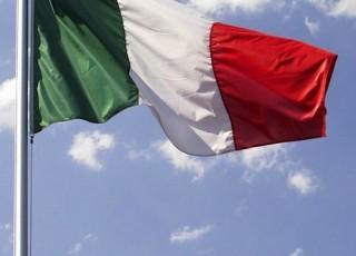 Bandiera Italiana Asta