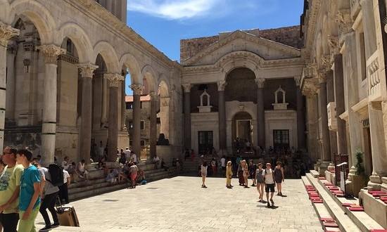 Spalato Palazzo Di Diocleziano