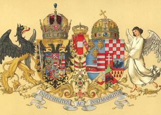 Austria Hungary Coa 1915