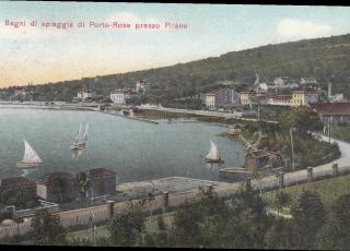 Portorose Cartolina Depoca